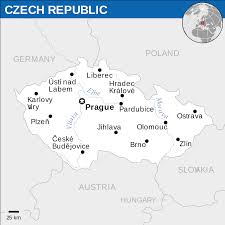 Germany Political Map by Czech Republic Map Blank Political Czech Republic Map With Cities