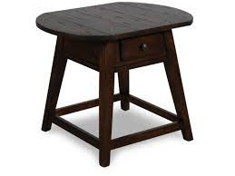 Mathis Brothers Living Room Furniture by Broyhill Attic Heirlooms Rustic Splay Leg End Table Mathis