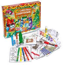 crayola countdown activity advent calendar target