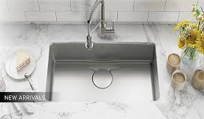 Kitchen Sink And Faucets Kraus Kitchen Bathroom Sinks And Faucets Kraususa