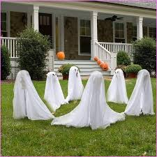 Minion Halloween Outdoor Decorations by Outdoor Halloween Decorations Diy Outdoor Halloween Cheese Cloth