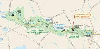 road map massachusetts usa fall hike 2016 battle road trail cub scout pack 31