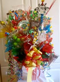 candy basket ideas the brighter side yyc candy bouquet great gift idea