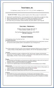 nursing resume with experience new graduate nurse resume clinical experience experience resumes
