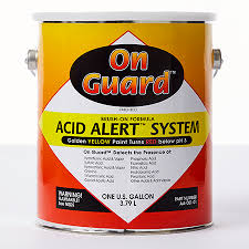 acid detecting paint acid alert system ramco