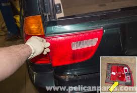 Bmw X5 Tail Light Replacement E53 2000 2006 Pelican Parts Diy