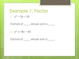 factoring polynomials section 2 4 standards addressed a a cc
