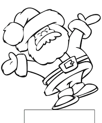 santa claus sleigh coloring pages sheets for toddlers santa claus