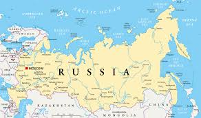 russia map map of russia guide of the world