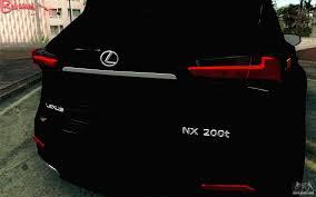 lexus nx tampa lexus nx 200t v4 for gta san andreas