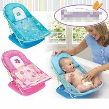chaise de bain b b baignoire bébé chaise bébé chaise de bain avec oreiller peut plier 2