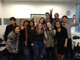 business communications class at ecsf ec san francisco
