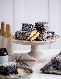 lamingtons a special australian sponge cake u0026 a trip white on