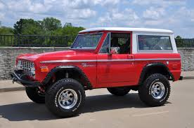 1971 ford bronco 4x4