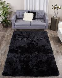 5x8 Area Rugs Home Decor 5x8 Area Rugs With Large Black Sheepskin