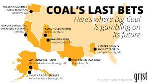 Alaska On The Map Coal U0027s Last Gamble A Choking Industry Bets On One More Big Score