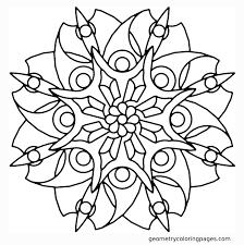 Mandala Flowers Coloring Pages Flower Mandala Coloring Pages Getcoloringpages Com