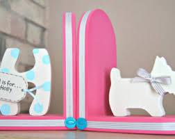 personalized bookends baby unicorn bookends children bookends unicorn room decor