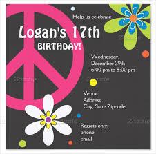 25 teenage birthday invitation templates u2013 free sample example