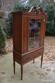 Painting Cabinets Before And After Best 25 Refinished China Cabinet Ideas Only On Pinterest China