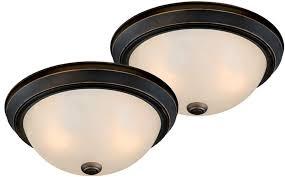 flush mount ceiling light fixtures oil rubbed bronze vaxcel c0022 builder twin packs oil rubbed bronze flush mount light