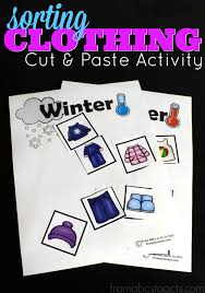 printable summer and winter clothing sort from abcs to acts