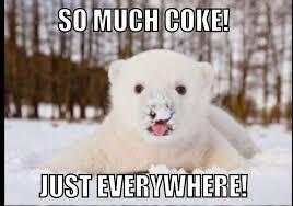 Coke Bear Meme - latest memes memedroid