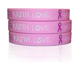 free breast cancer awareness wristband giveaway hunt4freebies