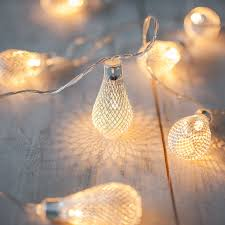 3 3m 20led battery led fairy lights led metal drip string lights
