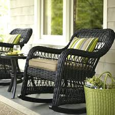 Discount Patio Sets Brown Wicker Rocking Chair Wicker Patio Furniture Clearance Patio
