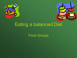 eating a balanced diet food groups ppt video online download