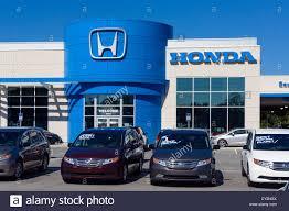 dealership usa honda car dealership winter central florida usa stock