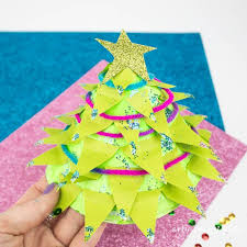 Arts And Crafts Christmas Tree - paper plate christmas tree craft arty crafty kids