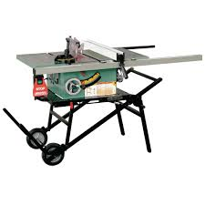 general international 12 amp 10 in industrial table saw with