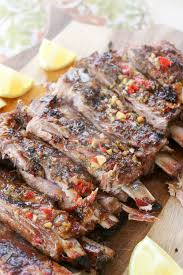 italian style slow roasted spare ribs from away