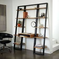 Ladder Office Desk Ladder Office Desk Best Shelf Ideas On Shelves Narrow Bookshelf