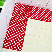 Memory Foam Kitchen Rug by Amazon Com Kitchen Rugs Memory Foam Non Skid Bottom Red With