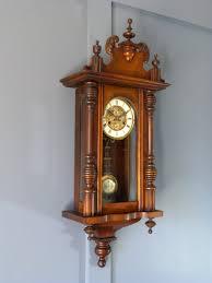 German Clocks Antiques Atlas German 8 Day Striking Wall Clock
