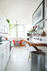 long narrow kitchen ideas bathroom remodel galley to open concept