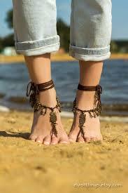 owl barefoot sandals beach wedding foot jewelry barefoot sandal