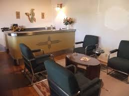 Southwest Dining Table Santa Fe Lounge Car Style Train Room Model Railroader Magazine