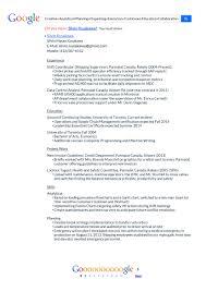Resume Update My Google Resume U2013 Silvio Kusakawa