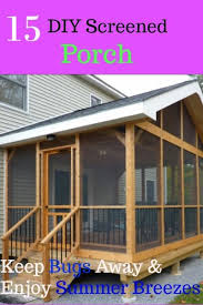 how to keep bugs away from porch 15 diy screened in porch to seal your porch from bugs and enjoy