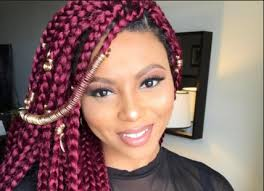 naigerian actresses hairstyles how to rock coloured braided hairstyles like your favourite nigerian