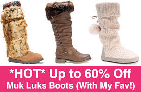 zulily s boots up to 60 muk luks boots plus my fav
