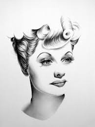 Lucille Ball Images Lucille Ball Minimal Portrait By Ileanahunter On Deviantart