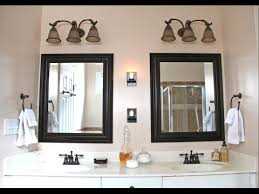Bronze Mirror For Bathroom Bathroom Vanity Mirrors Mirror And Light Ideas With For Remodel 14