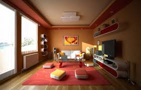 decorations alluring house theater interior with maroon walls