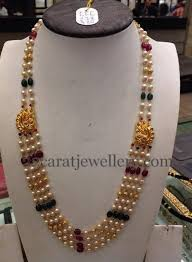 long bead chain necklace images Simple beads chain 24 grams chains beads and south sea pearls jpg