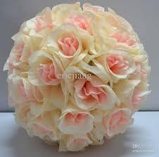 flower balls silk pomander flower bridal wedding decor favor party